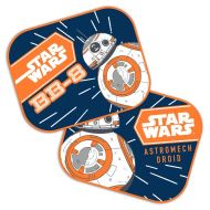 "Set 2 parasolare auto ""Star Wars - BB8"" SEV9315"
