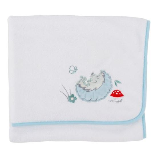 Paturica pufoasa din fleece 90x70 cm Comfi Love Hedgehog 844296