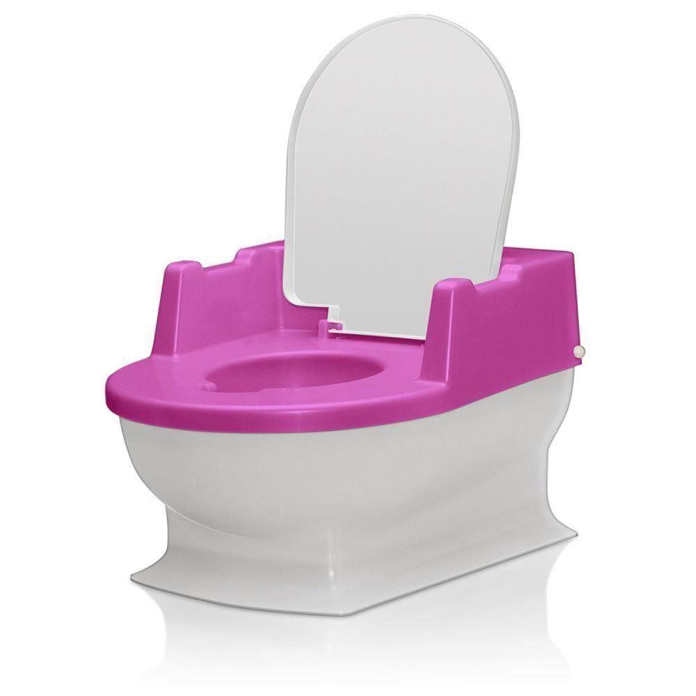 Minitoaleta pentru copii, roz REER 4411.2